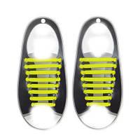 Силиконовые шнурки Triks без завязок Желтый (M_А_070419_23-4)