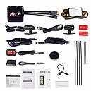 Видеорегистратор для мотоцикла 1080p Wi-Fi VSYS P6L, GPS, ДУ, IP68, 100086, фото 4