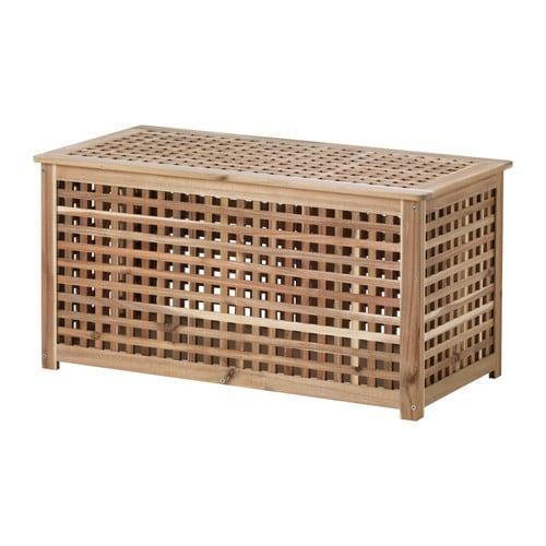 ИКЕА (IKEA) ХОЛ, 501.613.21, Стол, акация, 98x50 см - ТОП ПРОДАЖ
