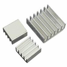 3x Радиатор алюминиевый для Raspberry PI, комплект, 100352