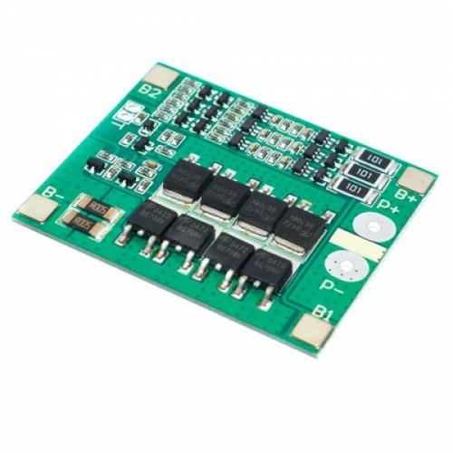 BMS контроллер 3S 25А плата заряда защиты 3x Li-ion 18650 с балансиром, 100481