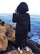 Пуховик з капюшоном TOWMY TM-AJ-2261-black, фото 4