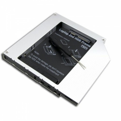 Адаптер на второй жесткий диск 2.5 SATA-SATA, 12.7, 101000
