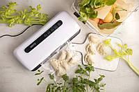 Бытовые вакуумные упаковщики вакууматоры для дома домашний вакуумный упаковщик Camry CR 4470 110W Белый +