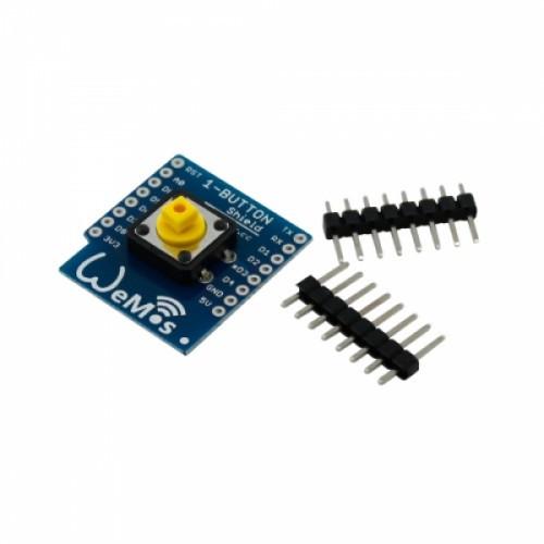 Модуль кнопки для Wemos D1, D1 mini, кнопка, 102632