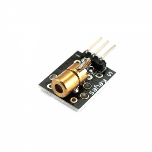 Модуль лазерный, красный диод, KY-008, Arduino, 102633