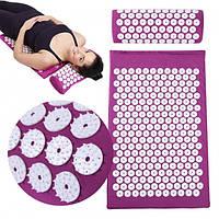 Акупунктурный коврик для тела, без риска