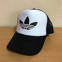 Мужская кепка Адидас, кепка Adidas из сеткой сзади, летняя, брендовая, реплика