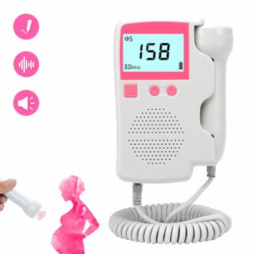 Фетальный допплер ультразвуковой портативный с подсветкой экрана TK-T802, 104149