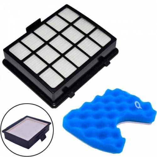 Фильтр HEPA DJ97-00492A для пылесосов Samsung + поролоновый под колбу, 104165