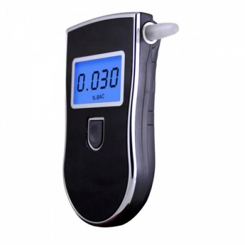Алкотестер алкометр цифровой профессиональный AT818 + 5 мундштуков, 101157