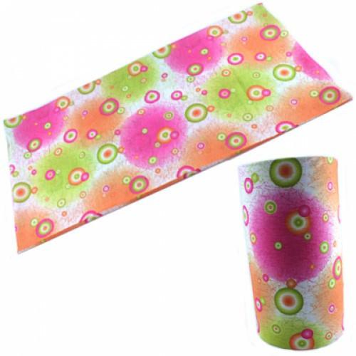 Бафф бандана-трансформер, шарф из микрофибры, 1 абстракция, 101312