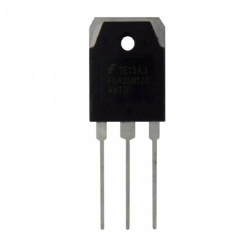 Чип FGA25N120 25N120 TO-3P, Транзистор IGBT 1200В 25А +диод, 104364