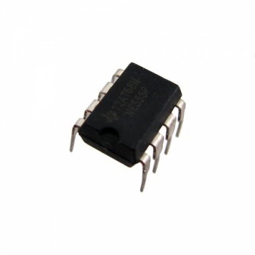Чип NE555P NE555 DIP8, Таймер интегральный, 104421
