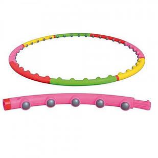 Обруч с массажными шариками HMD Хула Хуп Разноцветный (130-1231400)