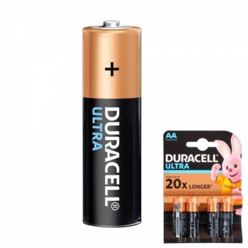 Батарейка AA LR6 Duracell Ultra щелочная 1.5В, 104846