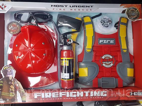 Набор пожарника F015D, фото 2