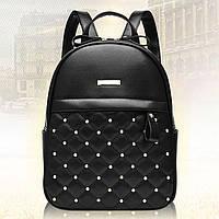 Женский городской рюкзак с бусинами Carla Faustini 1079