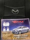 Чохли на сидіння Мазда 6 з 2007-2013 р. в., Авточохли для Mazda 6 GH з 2007-2013 р,ст., фото 2