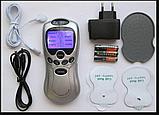 Импульсный эхо массажер-8 режимов, домашний массажер миостимулятор на русском языке., фото 2