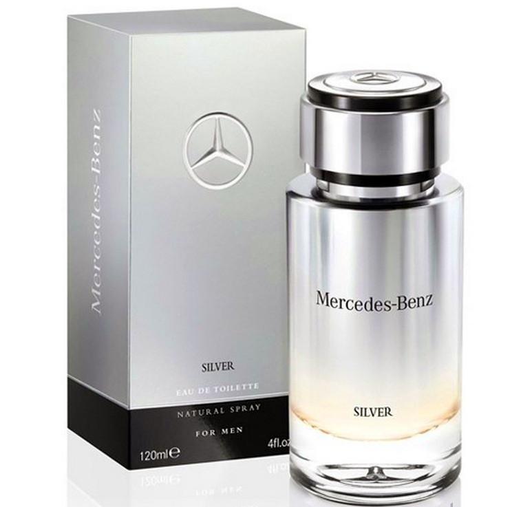Mercedes-benz Silver 120 ml (tester)
