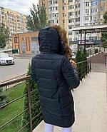 Пуховик зимний с капюшоном Visdeer 813-B03-Green, фото 4