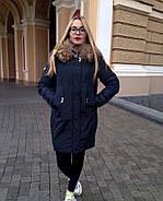 Пуховик зимний с капюшоном Visdeer 813-B03-Green, фото 6