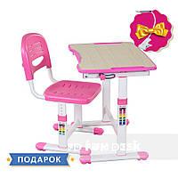 Растущая парта для девочки FunDesk Piccolino II Pink, фото 1