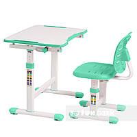 Комплект парта + стілець трансформери Omino Green FunDesk, фото 1