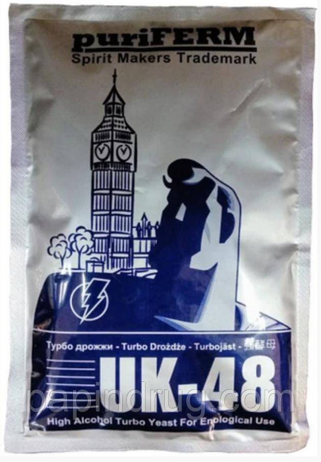 Puriferm UK-48 , спиртовые турбо дрожжи