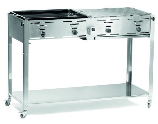 Гриль для барбекю газовый Grill-Master Quattro 154908 Hendi (Нидерланды), фото 2