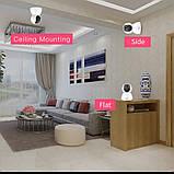 Беспроводная WiFi Камера  Видеонаблюдения с поворотом MARLBOZE, радио няня, СИГНАЛИЗАЦИЯ, фото 5