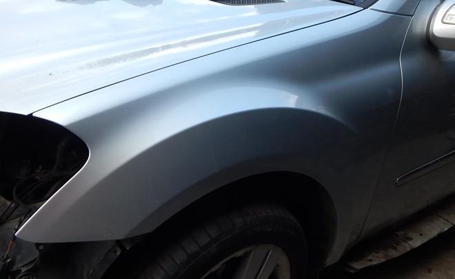 Крыла крила крыло переднее правое левое Mercedes GL X 164 2006-2012 гг