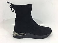 Стильные замшевые ботинки тм. Lonza