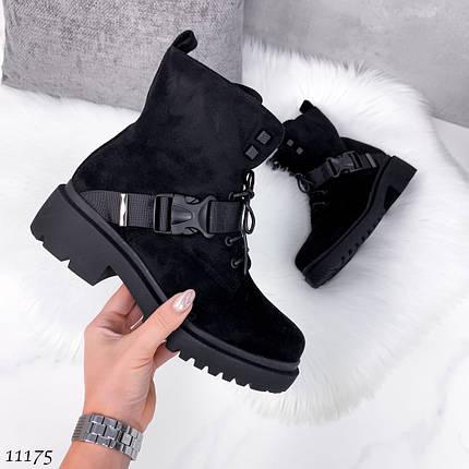 Ботинки с пряжками женские 11175 (ЯМ), фото 2