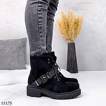 Ботинки с пряжками женские 11175 (ЯМ), фото 3