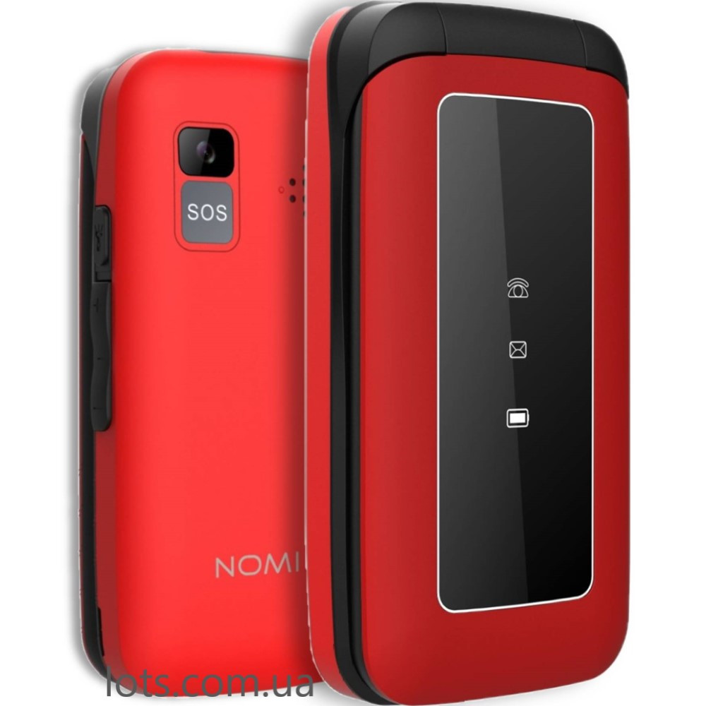 Мобильный Телефон Nomi i2400 Red (2-SIM) - Бабушкофон