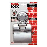 Держатель для туалетной бумаги Tatkraft Megalock металлический с вакуумной присоской  13х19.5х3 см (11458), фото 4