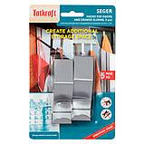 Крючки на дверь Tatkraft Seger из нержавеющей стали 2 шт в компл 6x6x2.5 см (20061), фото 2
