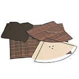 Корзина для белья Tatkraft ATHENA угловая с съемным хлопковым мешком коричневая бамбук 48л 35x35x50 см (11250), фото 4