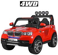 Детский электромобиль джип двухместный BMW 8088 красный, фото 1