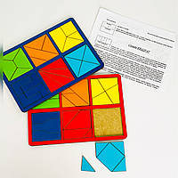 Склади квадрат Нікітіна 2 рівень