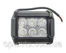 Светодиодные фары ОПТОМ! LED (лэд) фара квадратная 6 диодов. 18 Вт. 12-24 Вольт.