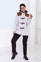 Стильный женский спортивный костюм кофта и штаны батал, фото 1