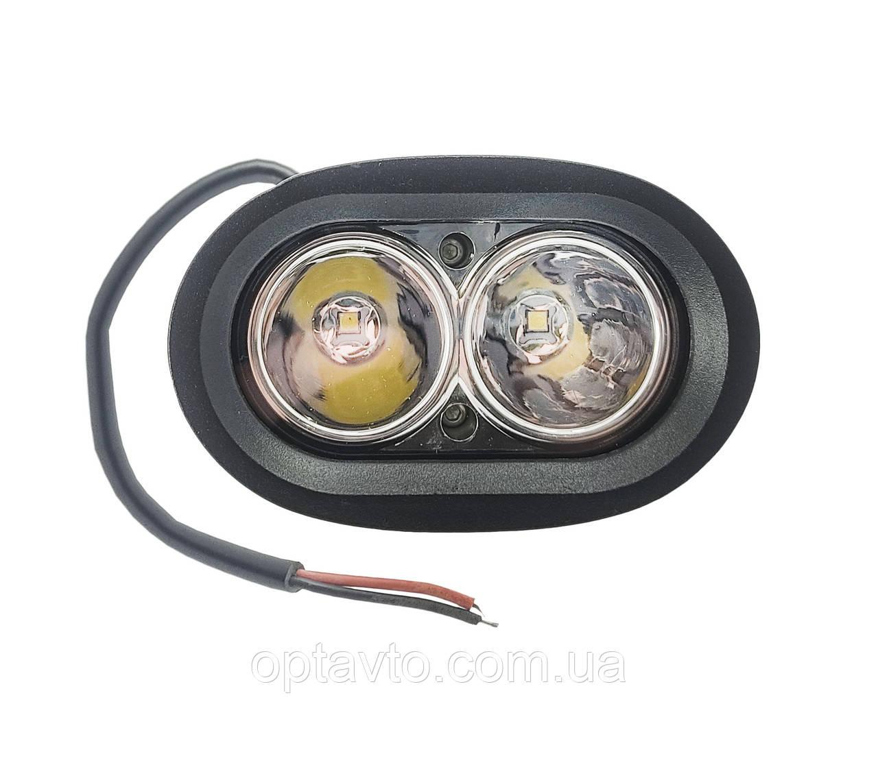 Светодиодные фары ОПТОМ! LED (лэд) фара СОВА. 20 Вт. 12-24 Вольт.