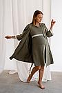 Халат для вагітних хакі To Be (42-50) 3057041, фото 3