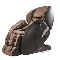 Массажное кресло AlphaSonic II +Braintronics (коричневое-  элегантное массажное кресло
