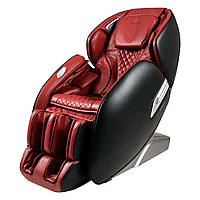 Массажное кресло Casada AlphaSonic (grey-red) II Limited Edition - эксклюзивное массажное кресло с красивой кр
