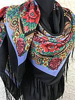 Турецкий шерстяной платок в народном стиле