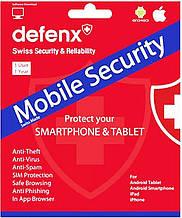 """ПО Комплект лицензионного П.О. """"Defenx mobile security suite"""". 1 год для одного устройства. #I/S"""